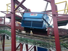 An Electro Overband Magnet installed in a quarry operation to remove tramp metal from conveyed materials. Magnets, Recycling, Around The Worlds, How To Remove, The Unit, Metal, Metals, Upcycle