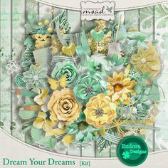 Dream your dreams by Eudora Designs https://www.myscrapartdigital.com/shop/eudora-designs-c-24_113/
