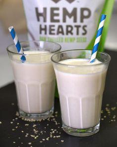 Homemade Hemp Milk. An easy allergy-friendly, non-dairy milk alternative!