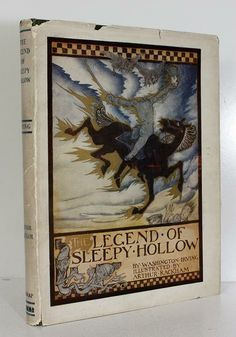 The Legend of Sleepy Hollow illustrated by Arthur Rackham