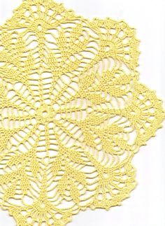 Crochet doily, lace doilies, table decoration, crocheted doilies, centre piece, hand made, wedding doily, napkin, Yellow, wedding