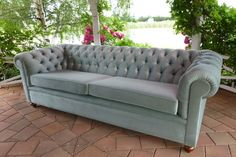 Three Seater Chesterfield Lounge