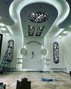 Choose from the largest collection of Latest False Ceiling Design & Decorating Ideas to add style. Discover best False Ceiling inspiration photos for remodel & renovate, here. Drawing Room Ceiling Design, Plaster Ceiling Design, Interior Ceiling Design, Ceiling Design Living Room, False Ceiling Living Room, Bedroom False Ceiling Design, House Wall Design, Tv Wall Design, Pop Design For Hall
