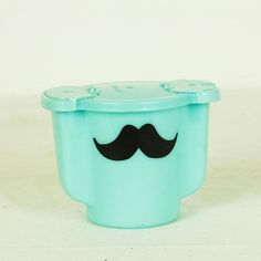 Moustache Sugar Tupperware now featured on Fab.