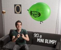 Remote Controlled Miniature Indoor Blimp