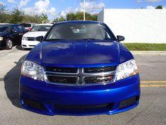 "2014 #Dodge Avenger SE (ext. color ""Blue Streak"")"