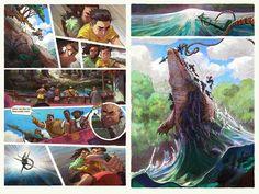 Kariba The Graphic Novel on Kickstarter https://www.kickstarter.com/projects/blueforestcollective/kariba-the-graphic-novel