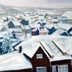 "Norway in Winter, 2017 Snowy Scandinavia in the unique artwork created by Yulia Jeltuhin. Do not forget to use 15% Christmas discount on everything in our gallery!! Artist Proof Giclee 18"" x 24""  #winter #snow #Christmas #Norway #Skandinavia #wintersky #landscape #hyperrealism #gicleeprint #gicleefineprint #giclée #gicleecanvas #gicleecanvas #giclee #USA #art #artwork #painting #landscapepainting #streetscene #representationalpainting #contemporaryrealism #artistsoninstagram #landscapeartist… Winter Sky, Winter 2017, Christmas Art, Christmas Stuff, Urban Painting, Hyperrealism, Landscape Paintings, Giclee Print, Originals"