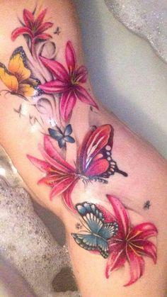 From JawDrop Ink Belly Tattoos, Dope Tattoos, Body Art Tattoos, Sleeve Tattoos, Tatoos, Beautiful Flower Tattoos, Pretty Tattoos, Wrap Around Tattoo, Tattoo Fixers