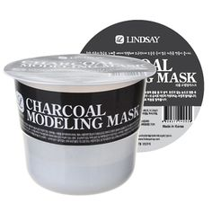 Modeling Rubber Mask - Charcoal Lindsay Natural Korean Beauty Skincare Mask