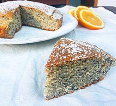 La Torta Arancia e Semi di Papavero Senza Burro, un dolce dal profumo fresco super goloso e leggero!