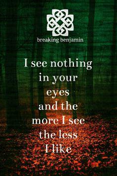 the-haunted-sinner:  Breaking Benjamin - Breath