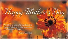 Free Happy Mother's Day eCard - eMail Free Personalized Mother's Day Cards Online