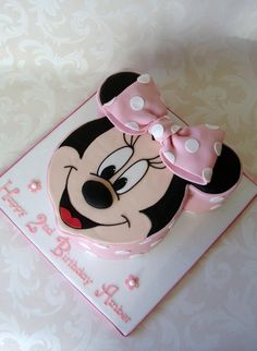 RubyteaCakesNorthernIreland - Celebrations - amber's minnie mouse cake.jpg