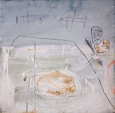 By Raffi Lavie. Cy Twombly, Pink Elephant, Scribble, Art Boards, 1980s, Abstract Art, Drawings, Painting, Image