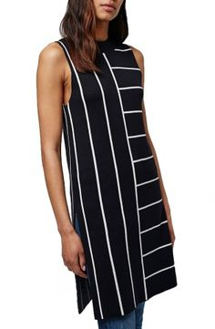 Shop the Topshop Stripe Split Hem Tunic from the Nordstrom Anniversary Sale on Keep!