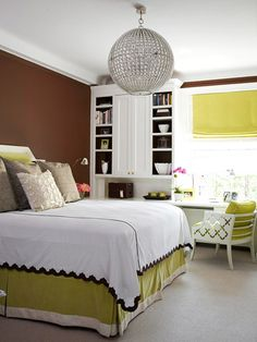 Green And Brown Bedroom Enchanting Cute Bedroom  Bedroom  Pinterest  Remodeling Ideas Bedrooms Decorating Inspiration