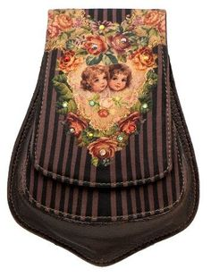 Small Pouch Designed by Michal Negrin with Victorian Style Cherubs Printed Velvet and Multicolor Swarovski Crystal Accents Michal Negrin, http://www.amazon.com/dp/B0080HWGBQ/ref=cm_sw_r_pi_dp_5QSirb0ZVK53T