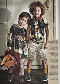 R'belle belt featured in Feb issue of Vogue Bambini! www.circuslondonpr.com