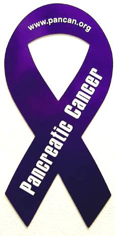 Pancreatic Cancer Awareness  For my mom!!!  Listen to your body, do not ignore symptoms and visit the doctor regularly!! This is for ANY cancer awareness ;)
