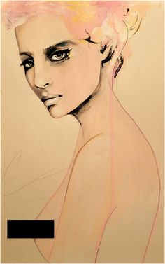 Paolo Roversi Series 2 - Fashion Illustration Art Print-Leigh Viner...