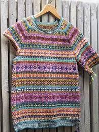 Related image Rowan Felted Tweed, Fair Isles, Fair Isle Pattern, Lion Brand Yarn, Fair Isle Knitting, Hobbies And Crafts, Pullover, Knitting Patterns, Knitting Ideas