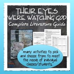 zora neale hurston their eyes were watching god acirc seraphic their eyes were watching god literature guide common core
