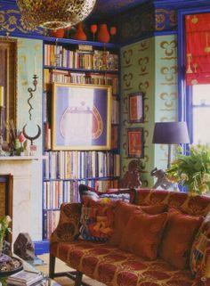 La Maison Boheme: love the hallmarks of Bohemian, Color pattern and texture