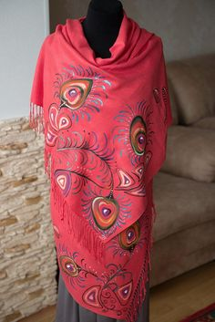 вечерние платки женские рождественские подарки для мамы маковый шарф