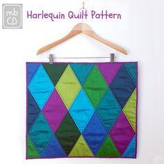 Chris Dodsley @mbCD: Harlequin Quilt Pattern