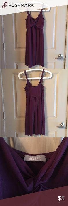 Sundress by Delia's Sundress by Delia's, dark purple. Good condition. Delia's Dresses Mini