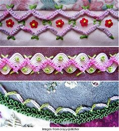 crazy quilting-great ideas for embellishments