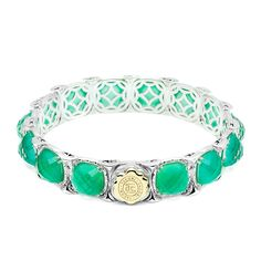 Green Onyx Bracelet    http://www.facebook.com/#!/diamondjewelersonthecoast