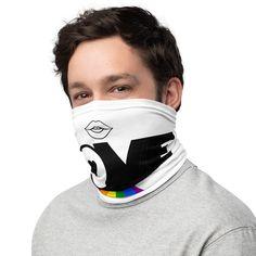 Share LOVE Multi-Functional Pride Rainbow LGBT Face  Cover Neck Gaiter Mask Bandana Headband Wristband Gift Neck Warmer Wrap Scrave
