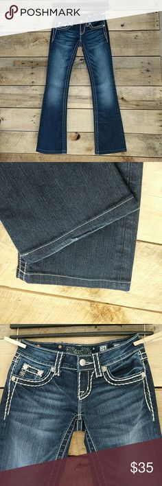 """Miss Me Boot Cut Jeans EUC Jeans are in excellent condition. Have been professionally hemmed to a 29"""" inseam. Miss Me Jeans Boot Cut"""