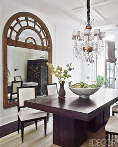 greige: interior design ideas and inspiration for the transitional home by christina fluegge: Darryl Carter - The New Traditional home - Keeping it simple and interesting