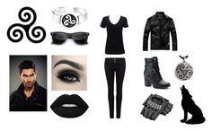 """""""Female Derek"""" by lucy3107 ❤ liked on Polyvore featuring Apt. 9, Too Faced Cosmetics, Simplex Apparel, Paige Denim, Bling Jewelry and TeenWolf"""