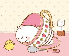#molang It Tea Time ~~~~~ <3