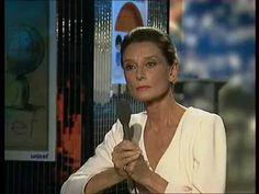 """Audrey Hepburn Interviewed on French TV Show """"Du Côté De Chez Fred"""" (22n..."""