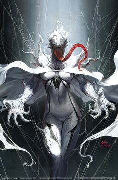ArtStation - MARVEL - EDGE OF VENOMVERSE #1 cover art, InHyuk Lee