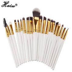 $4.69 (Buy here: https://alitems.com/g/1e8d114494ebda23ff8b16525dc3e8/?i=5&ulp=https%3A%2F%2Fwww.aliexpress.com%2Fitem%2F20-pcs-Makeup-brushes-Pro-hair-eyebrow-foundation-brush-pen-cleaner-sets-Cosmetic-maquiagem-make-up%2F32787407063.html ) 20 pcs Makeup brushes Pro hair eyebrow foundation brush pen cleaner sets Cosmetic maquiagem make up brush set Blusher cosmetics for just $4.69