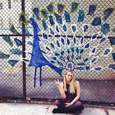 crochet artist London Kaye