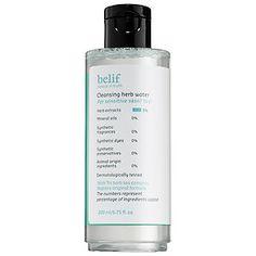 belif - Cleansing Herb Water #sephora
