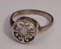 Ola Gorie - Orkney - vintage sterling silver ring marked OMG - no reserve - http://elegant.designerjewelrygalleria.com/ola-gorie/ola-gorie-orkney-vintage-sterling-silver-ring-marked-omg-no-reserve/