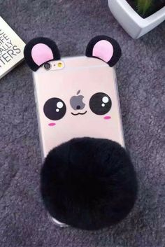 Cute bear clear iphone 6, iphone 6 plus, iphone 7 & iphone 7 plus protective case for teen girls