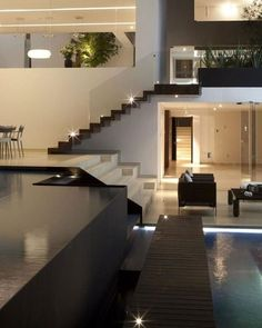 Casa del Agua by a.a.a Almazán y Arquitectos Asociados  #luxury #luxuryhome #architect #luxuryhouse #arquitectura #luxurylife #luxurylifestyle #mansion #mansions #mansionhouse #bighouse #bighouses #lights #homes #homesweethome #homestyle #homestead #homestyling #house #houses #architecture #architectureporn #design #modern #architects #loft #interior #interiordesign  All credits correspond to photographerdesignercreator - Architecture and Home Decor - Bedroom - Bathroom - Kitchen And Living…