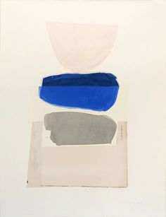 Pink over Blue over Grey - Claire Oswalt Tappan