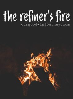 The Refiner's Fire - a lesson from the process of refining fire in our lives. Silver has a beautiful process of refining. The refiner's fire has purpose. Christian Living, Christian Life, Christian Sayings, Christian Women, Beautiful Stories, Life Is Beautiful, Prayer Scriptures, Bible Verses, Fire Bible