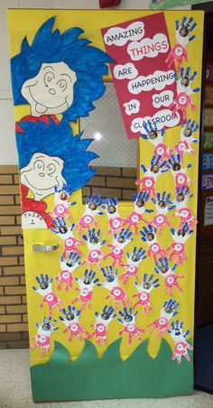 Dr. Seuss Door