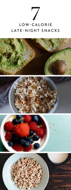 These low-calorie late-night snacks will satisfy you without taking a toll on your waistline. Is that your stomach growling or ours?